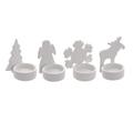 Подсвечники керамические новогодние от 12 штук dl15468