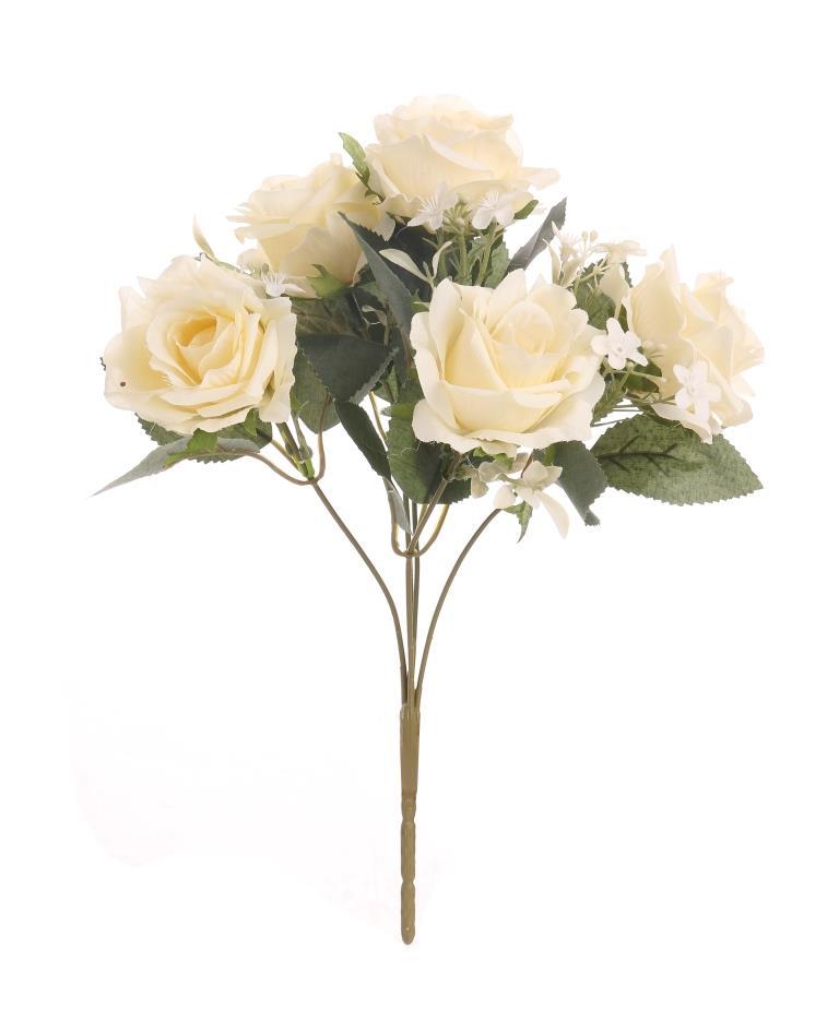Цветочная композиция / Чайная роза 29 см