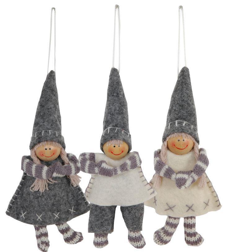 Тильда куклы подвесные (3) 10 см