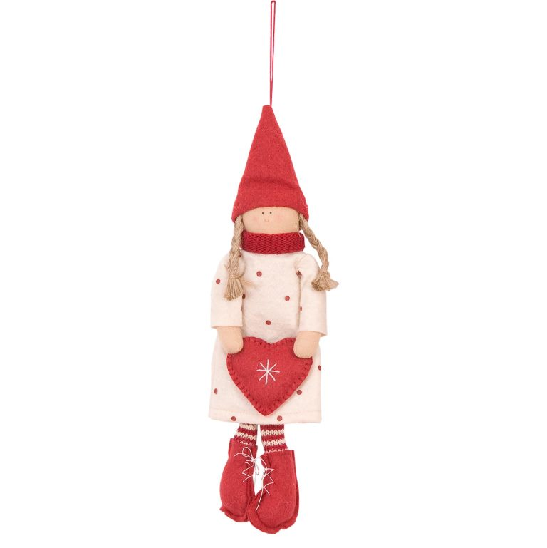 Тильда кукла подвесная 24 см