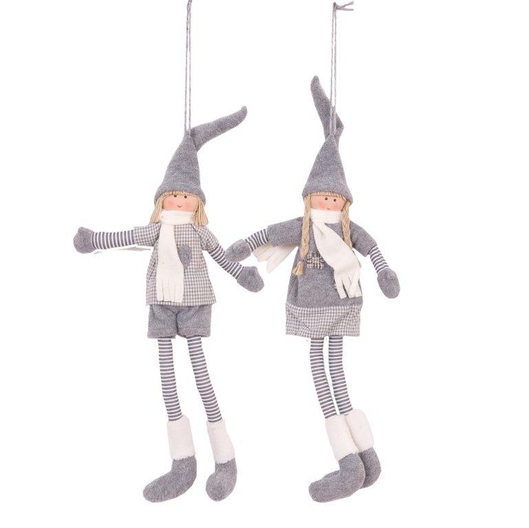 Тильда куклы подвесные (2) 32 см