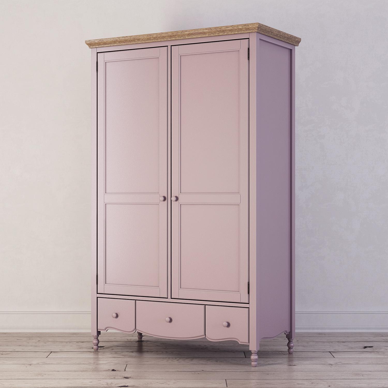 Шкаф двухстворчатый Leblanc, лаванда