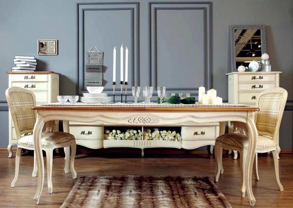 Стол обеденный Noir&Blanc DF889