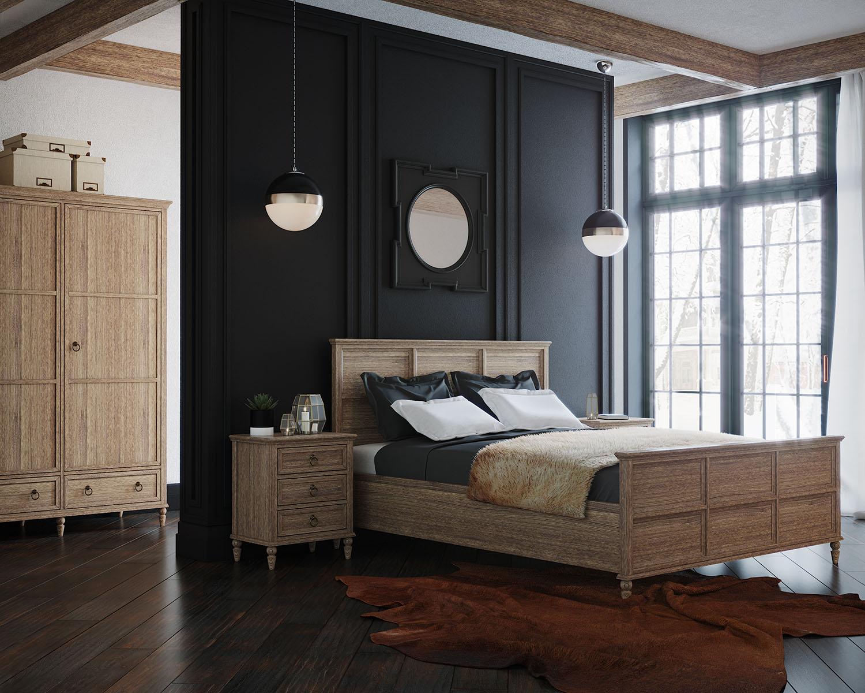 Кровать 160*200 Vilton, дуб