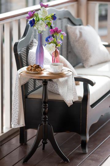 Кофейный столик Leontina (круглый) ST9105N