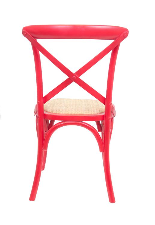 Стул Cross back red CF-1868-R