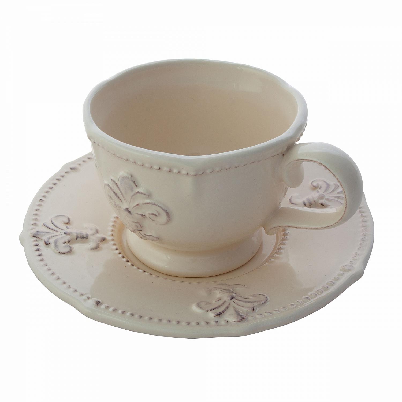 Чайный набор керамический кремовый T10409-2