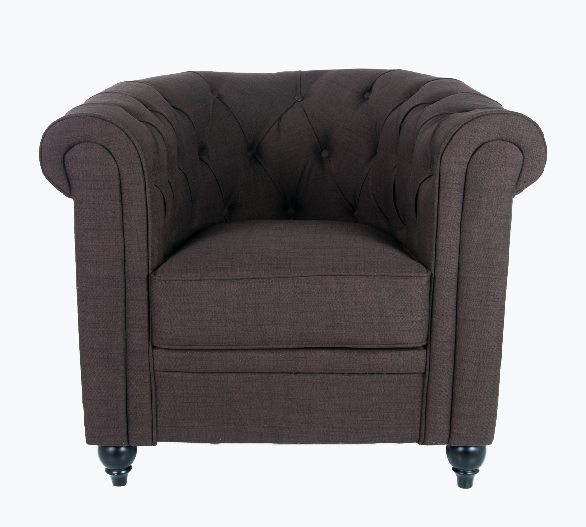 Кресло Nala brown DF-1830-O
