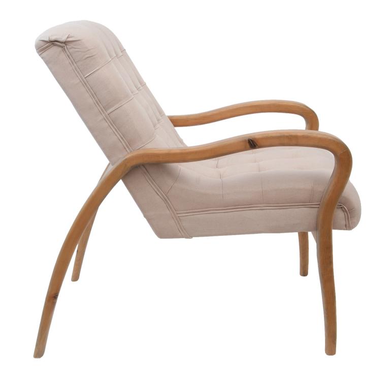 Кресло бежевое Elisio YF-1998