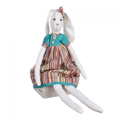 Заяц сидячий (девочка) 10х6х52 LJ87-0030