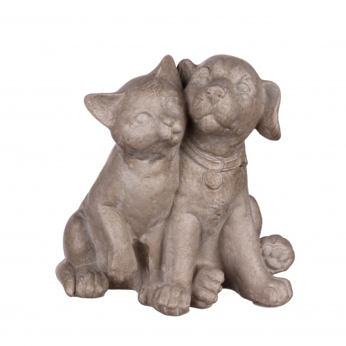 Статуэтка кошка с собакой 8,5х6,5х9 QJ99-0035