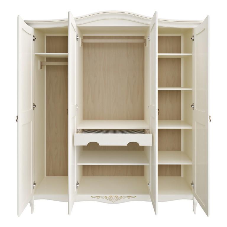 Шкаф 4 двери Romantic Gold