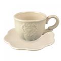 Чашка+блюдце 13.2Х9.2Х11  QJ99-0134