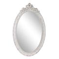 Зеркало Ажур в белой раме 9459-31