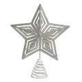 Декор новогодний - звезда серебристый 2-70-570-0109