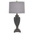 Лампа настольная черный полистоун 3-15-055-0063