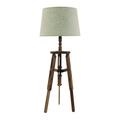 Лампа настольная коричневая 3-15-716-0114