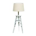 Лампа настольная белая 3-15-716-0136