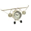 Часы настольные в форме самолета - кварцевый механизм 3-20-098-0196