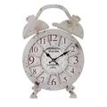 Часы настенные в виде будильника - кварцевый механизм 3-20-098-0226