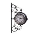 Часы настенные на кронштейне - кварцевый механизм 3-20-098-0239