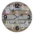 Часы настенные круглые - кварцевый механизм 3-20-192-0049