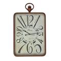 Часы настенные прямоугольные - кварцевый механизм 3-20-484-0356