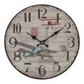 Часы настенные круглые 34см - кварцевый механизм 3-20-484-0395