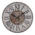 Часы настенные круглые 34см - кварцевый механизм 3-20-484-0399