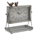 Часы настольные с птичками - кварцевый механизм 3-20-901-0003