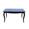 Стол обеденный черный DF801 (S01)