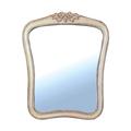 Зеркало белое в стиле прованс DF817 (M01)