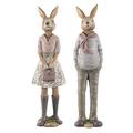 Кролики Девочка и мальчуган (от 2х штук) LK7511HP