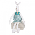 Заяц сидящий (девочка) 8х4х41см LJ87-0035