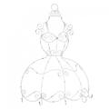 Крючки- платье 47х19,5х63 EX08-0041