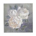 Панно белые розы 31х31 FR0575