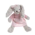 Кролик девочка в розовом платье 30см F1403008B