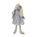 Кролик девочка в платье в клетку 60см FS1350131-C