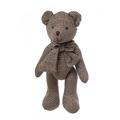 Медвежонок коричневый в клетку 40см L1304001E