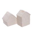 Керамические домики подсвечники (от 12-х шт.) 1514105WT