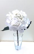 Гортензия новогодняя белая 52 см