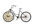 Часы настольные металлические в форме велосипеда - кварцевый механизм 3-20-977-0216