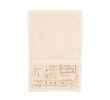 Cалфетка из льна с кружевом Осенняя пора (от 2-х шт.) 30х45см 0399-8 (30х45)