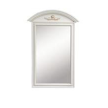 Зеркало White Rose белое с эффектом старения
