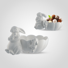 Конфетница Керамическая Белая