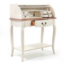 Стол бюро Leontina, бежевого цвета