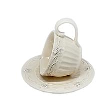 Чайный набор керамический белый