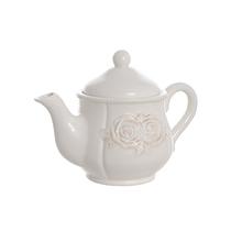 Чайник керамический белый 16х16см T18610-1