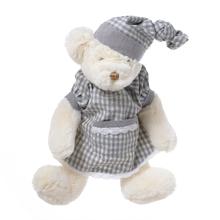 Медвежонок плюшевый белый девочка 35см FT1335002