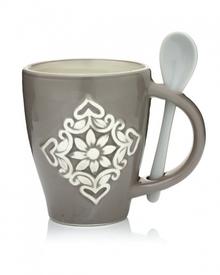 Чашка с ложкой